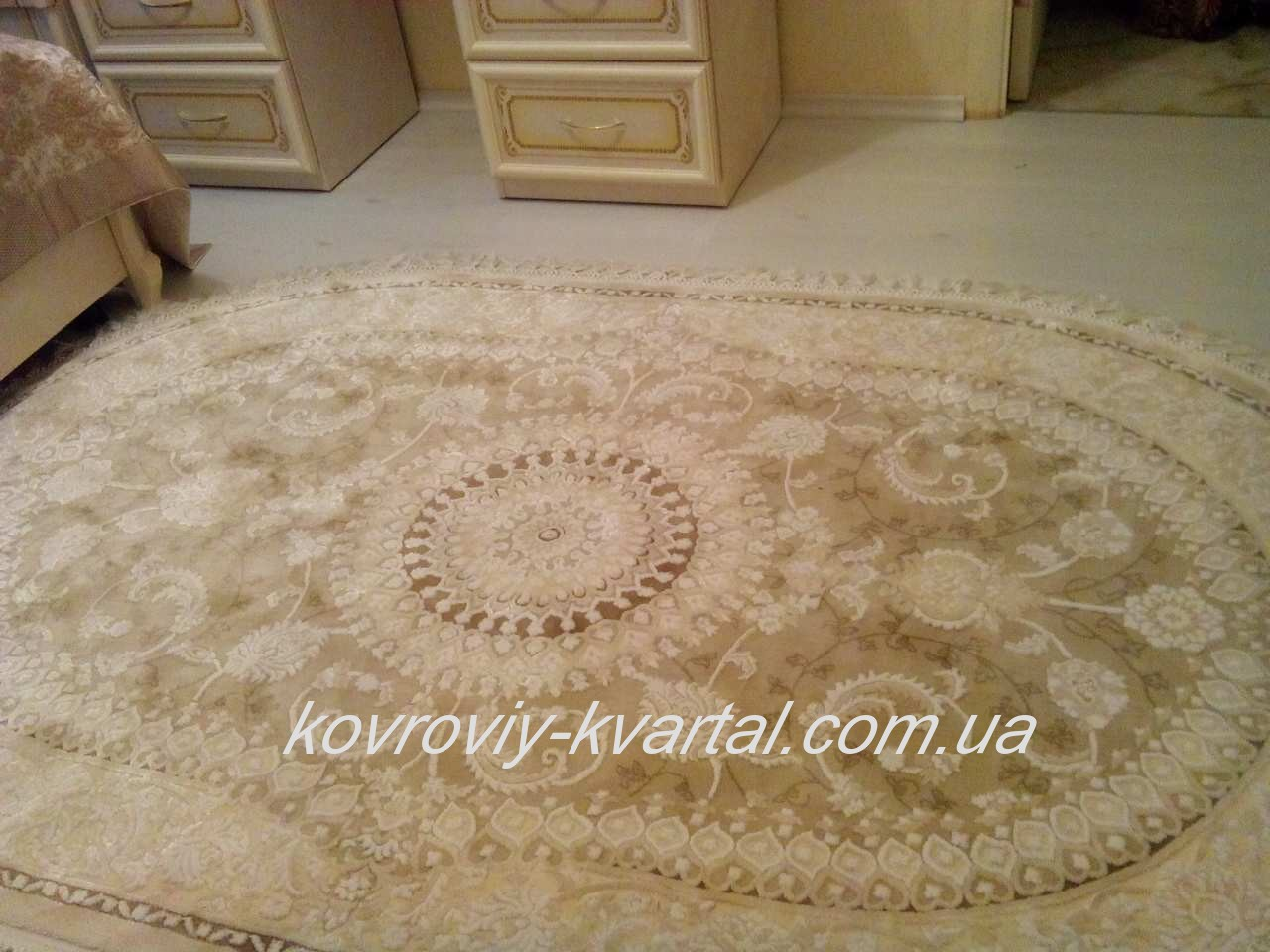 021-ковёр-Istinye-2953a-Brown-Beige
