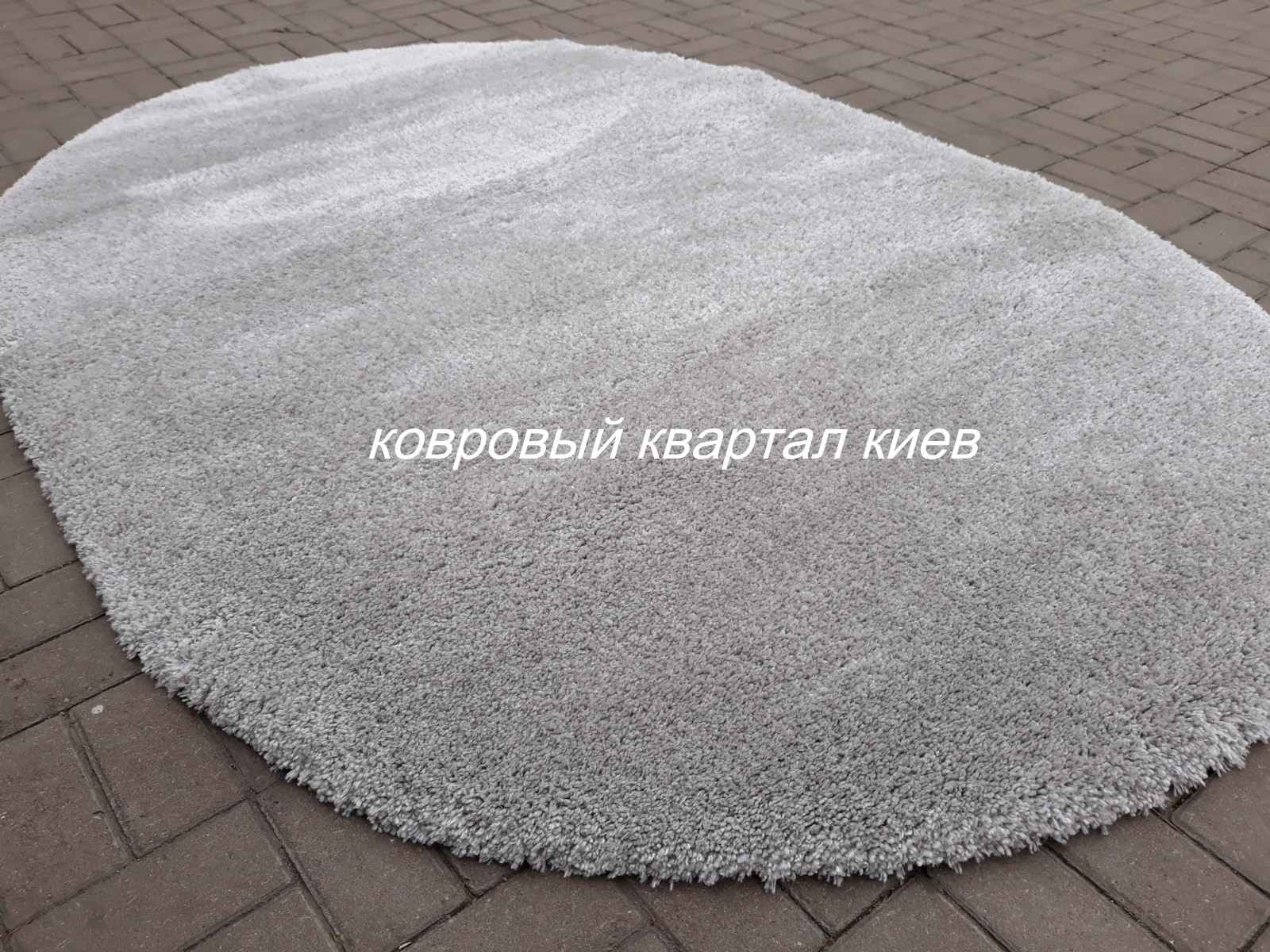 ковёр-FITNESS-04785-Silver-SUPER-SHAGGY