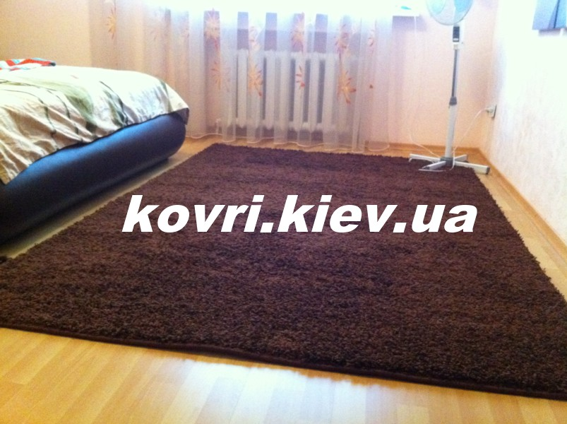 054-ковёр-9000-Brown-Shaggy