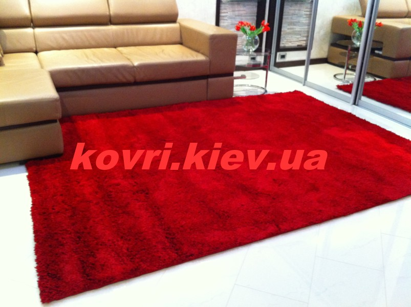 ковёр-Himalaya-8206a-RED-Super-Shaggy